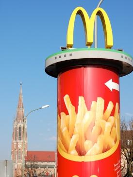 Erste Mc Donald's in Deutschland