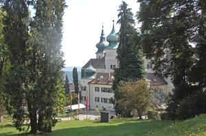 Idyllisch in Niederösterreich gelegen: Schloss Arstetten mit der Gruft der Hohenbergs