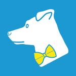 """Kein Spar""""fuchs"""", sondern ein Jack-Russell-Mischling ziert das Logo ISARSPARER. Unser Familienhund Mali ist sehr sparsam im Unterhalt, weil er nur sehr wenig frisst. Ein hundisches Sparfüchslein sozusagen, das auch noch fuchsfarben ist – wie gemacht also für die ISARSPARER."""